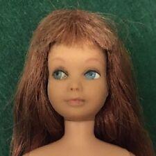 RARE 1963 Cinnamon Skipper Straight Unbendable Legs Barbie Doll Mattel