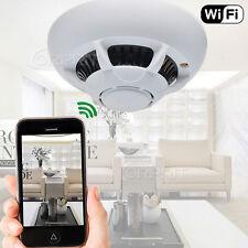 Überwachung Spionage Rauchmelder WiFi HD 1280x720p Camera für I-Phone , Android