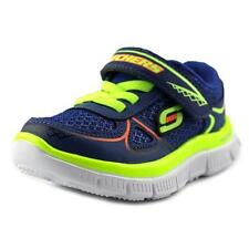 Scarpe blu medio con lacci per bambini dai 2 ai 16 anni