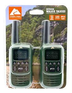 Ozark Trail Outdoor Walkie Talkies Up To 16 Mile Range Waterproof OZA19LT001