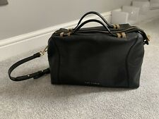 Ted Baker Leather Bag - Black and Gold