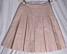 """Cute """"On & On Modern Fem"""" Fashion Korean Hallyu Skirt Pink Flowers Meduim Size 8"""