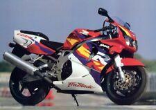 Motorräder - Honda Fireblade Bike Poster Plakat (91x61cm) #5094