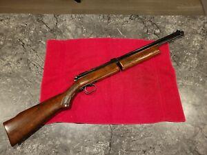 Benjamin Franklin Checkered Model 342 .22 Caliber Pellet Rifle Beautiful