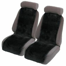 Sheepskin (Lambswool) Car Seat Insert Covers Pair 30MM TC Thick Airbag Safe
