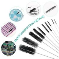 10PCS For Tobacco Pipe Nylon Stainless Steel Cleaner Cleaning Brushes Set