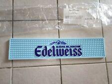 tapis de bar bière blanche edelweiss no Leffe Heineken 9 par 42 cm neuf