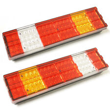 2 x 24V Rear Tail Lights LED Light Truck Lorry Trailer For Mercedes Atego Actros