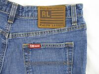 Ralph Lauren Polo Jean Co. Womens Saturday Shorts Sz 6 Blue Denim Summer CB62C