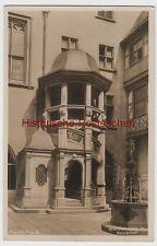 (80250) Foto AK Frankfurt a.M., Wendeltreppe im Römerhof, 1932