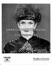 "Steve Strange / Visage 10"" x 8"" Photograph no 4"