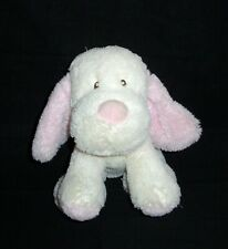 New listing Toys R Us Pink Cream Puppy Dog Plush Stuffed Animal Alley 2017 Lovey Toy