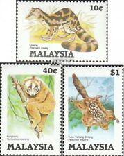Malaysia 299-301 mint never hinged mnh 1985 Protected Animals