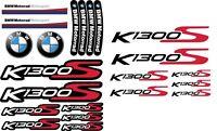K1300S Motorcycle Stickers Set Laminated Decals BMW S1300 S Motorsport /77 78