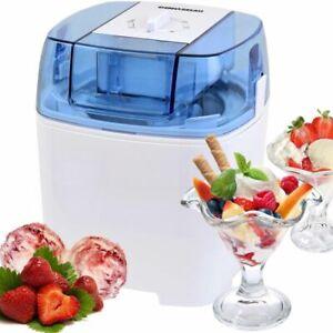 Eismaschine Eiscreme-Maschine 3 in 1 mit Timer Funktion 1,5 Liter Volumen