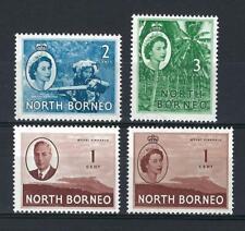 North Borneo 1947-54 Sc# 261/64 Musician Coconat 4 stamps MNH