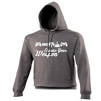 Choose Your Weapon Game HOODIE hoody birthday video game gamer funny gift
