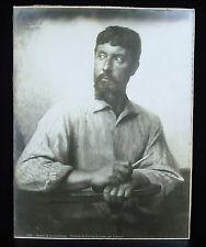 Photography the Portrait of the Artist Stone François Lehoux by Fernand Cormon