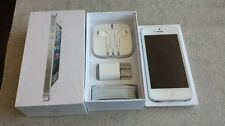 NEW White iPhone 5 16GB Factory Unlocked + 1-Year Warranty TMobile Straight Talk