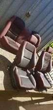 Red VZ Commodore SV6 Cloth Seats
