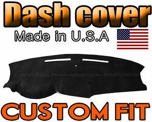 fits 2011-2019   DODGE CARAVAN  DASH COVER MAT DASHBOARD PAD / BLACK