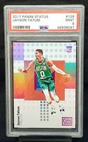 2017 Status RC Celtics JAYSON TATUM Rookie Basketball Card PSA 9 MINT Pop 348