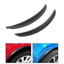 """2 Pieces 13""""  Carbon Texture Diffuser Fender Flares Lip For VW Wheel Wall Panel"""