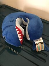 Shark Soft Toy Neck Travel Pillow Kids