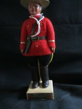 """Mountie RCMP Canada Indien Arts Eskimo 8 1/2"""" doll"""