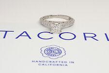 0.99 ct TACORI Classic Crescent 2616PR 18K Gold Princess Diamond Engagement Ring