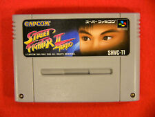 Street Fighter II 2 Turbo (Nintendo Super Famicom SFC SNES, 1993) Japan Import