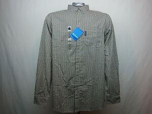 """Vapor Ridge"" Big & Tall Shirt for Men by Columbia Sportswear NWT Almond $65"