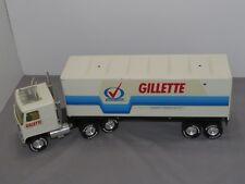 NYLINT 1:16 Toy Semi Trailer International Transtar Truck GILLETTE Dairy MILK