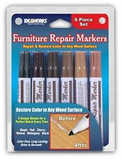 6 pack Markers Total Furniture Repair System Match any Wood Color Maple Surface