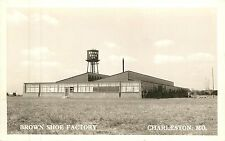 Missouri, MO, Charleston, Brown Shoe Factory Real Photo Postcard