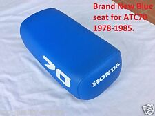 Honda ATC70 ATC 70 1978-1985 *blue seat*  with  #70 on sides