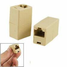 RJ11 Female to Socket Coupler/Joiner Adapter  Phone/Broadband Router Extension
