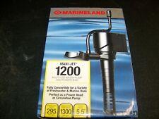 MARINELAND MAXI-JET PRO 1200 WATER PUMP POWERHEAD - AUTHORIZED USA DEALER