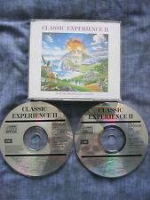 CLASSIC EXPERIENCE II.(FAT BOX DOUBLE CD).EAN:0077779443123.36 Popular Classics.