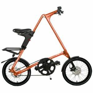 STRIDA SX Orange 18 Inches Folding Bike Citybike
