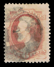 NICE GENUINE SCOTT #186 VF-XF USED NEGATIVE B CANCEL 1879 ABNC - PRICED TO SELL