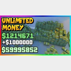 GTA 5 ONLINE PC MONEY + RP (1 BILLION) UNDETECTED