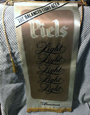 Vintage 1971 Piel's Light Beer Bar Advertising Banner