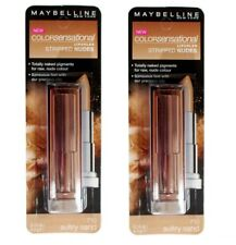 2 x Maybelline Color Sensational Stripped Nudes Lip Color 710 Sultry Sand 4.2g