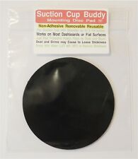 Non-Adhesive Mounting Disc Sticky Pad  Suction Cup Buddy pad Mount gps disk