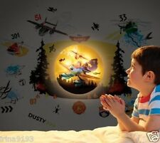 Disney Planes Safe N Sound Lumiglow Vinyl Children 50 Wall Stickers Room Decor