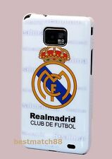 for samsung galaxy S2  i9100 and i777 case real madrid football soccer