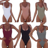 Sexy Women One-Piece Push Up Bikini Bandage Monokini Swimsuit Bathing Swimwear