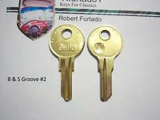 Key Blank for Chevorlet Pontiac Oldsmobile Buick Cadillac 1926 to 1932  (1098L)