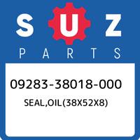 09283-38018-000 Suzuki Seal,oil(38x52x8) 0928338018000, New Genuine OEM Part